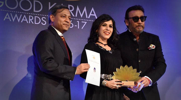 Award Pic with Jackie shroff
